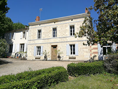 GIRONDE: Vineyard of 25ha in the heart of the Bordelais hills
